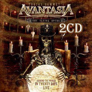 艾凡塔西亞 / 翱翔天際:世界巡迴演唱會 2CD Avantasia / Around The World In 20 Days – Live 2CD
