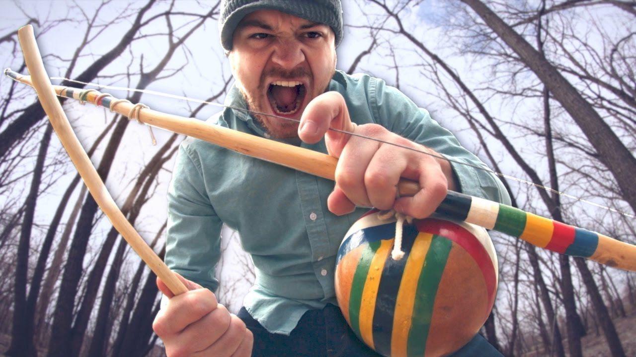 這樂器叫Berimbau,它可以用來玩金屬!