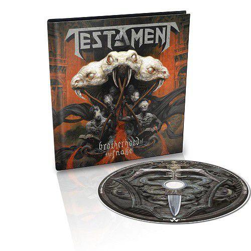 Testament / Brotherhood of the Snake (Mediabook CD)