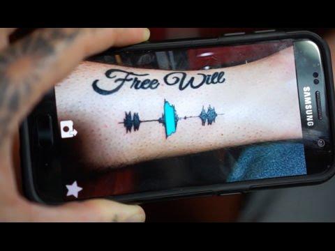 用聽的刺青,緬懷人生最重要的時刻, Soundwave Tattoos !