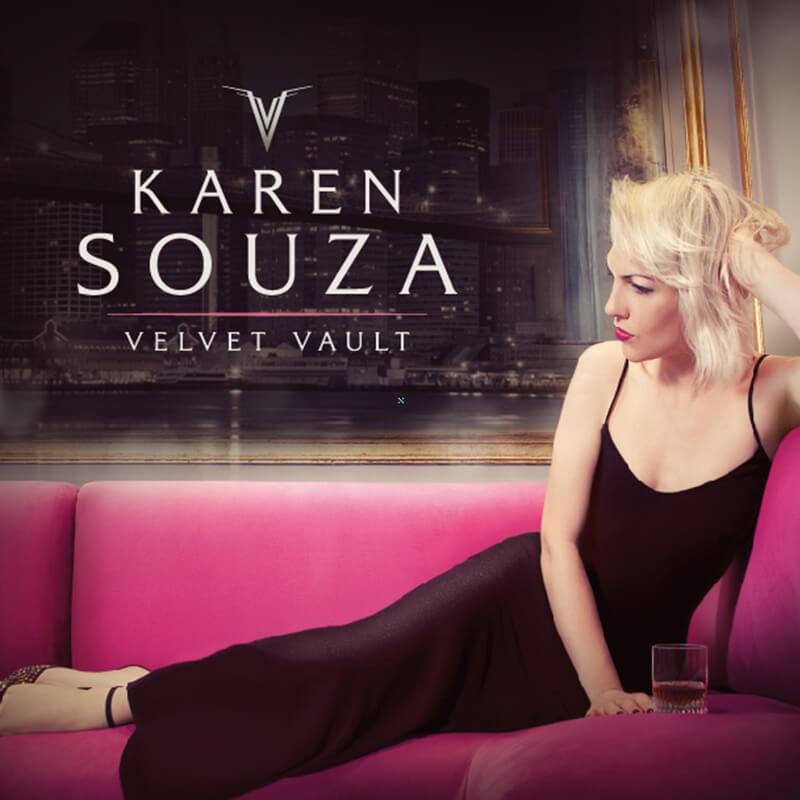 凱倫莎莎 / 夜空之天鵝絨 Karen Souz / Velvet Vault